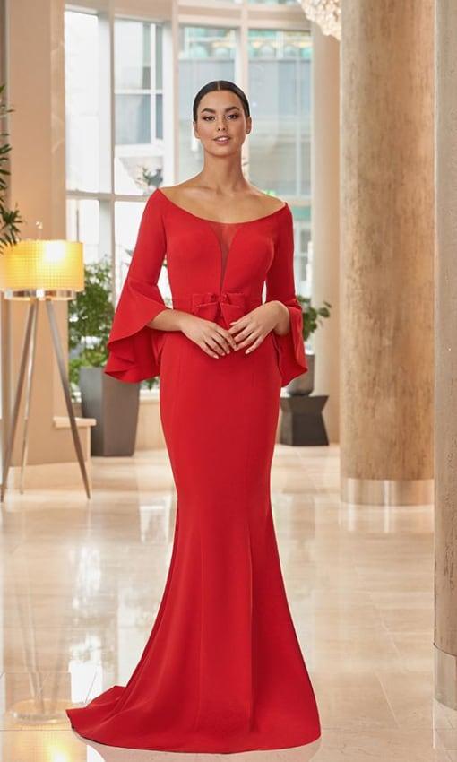 Daymor red dress