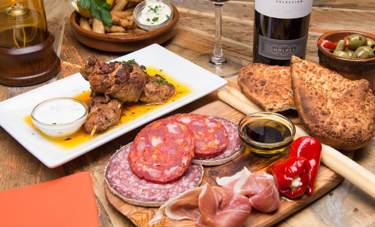 World tapas day at the White Swan Hotel
