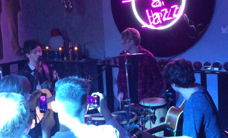 The Vamps at the White Swan in Henley