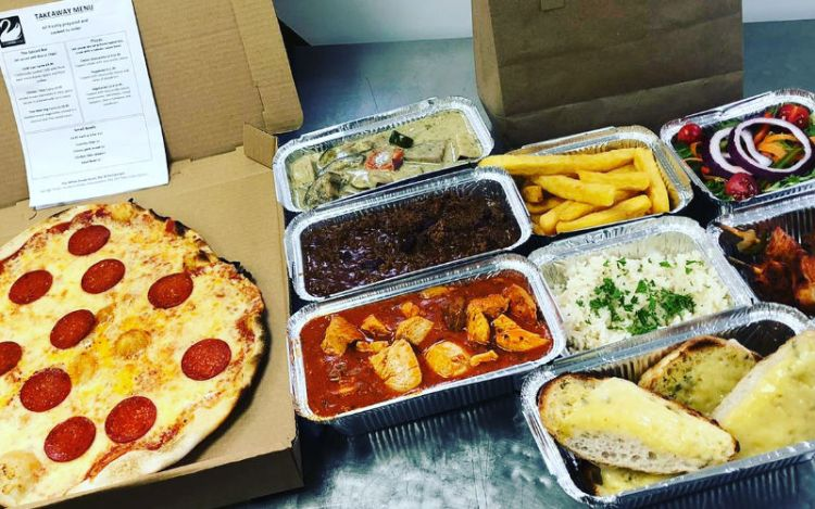 The Henley White Swan takeaway options