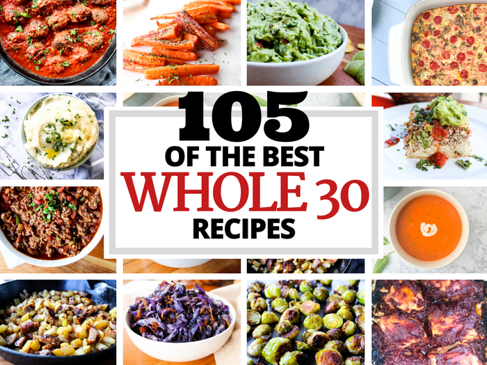 105 of the Best Whole30 Recipes via The Whole Cook(1)