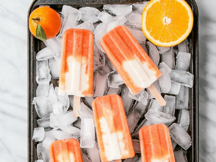 Healthy Creamsicles by My Kitchen Love