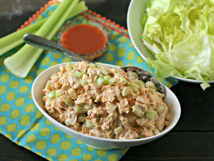 Buffalo Chicken Salad by Everyday Maven