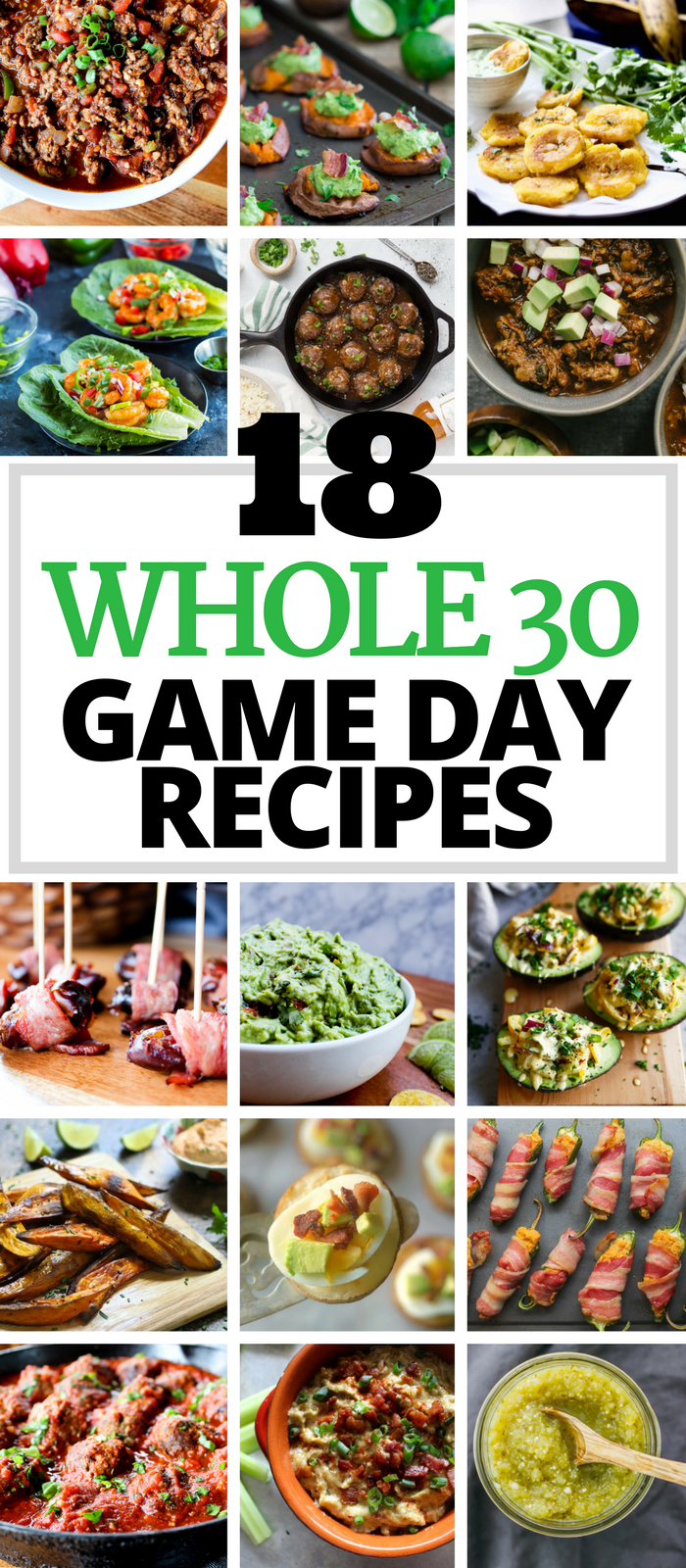 18 Whole30 Game Day Recipes via The Whole Cook