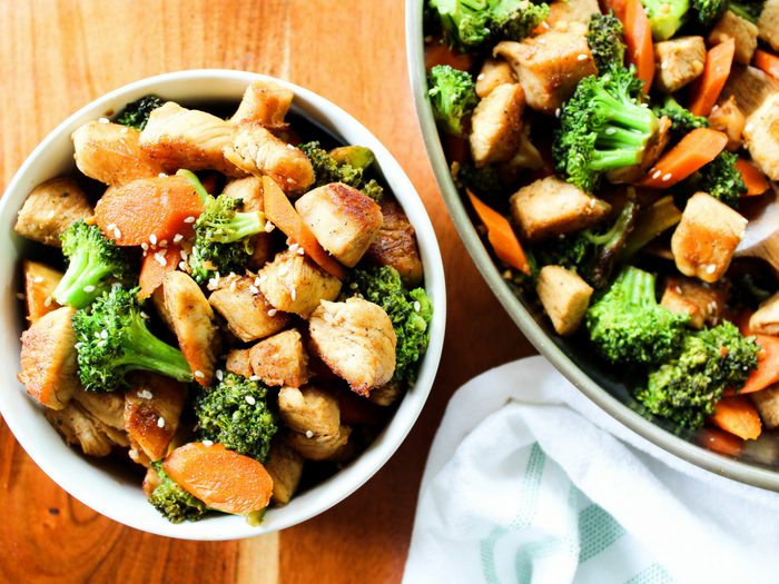 Easy Chicken & Broccoli Stir Fry by The Whole Cook horizontal(2)