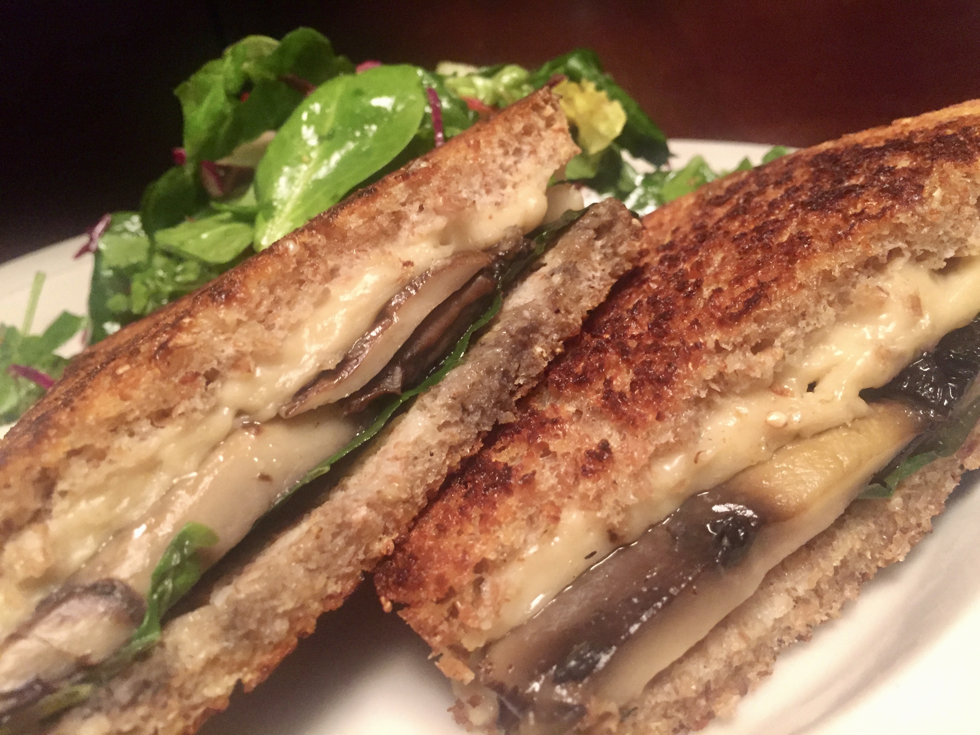 Vegan Grilled Gouda- Melted Mastery
