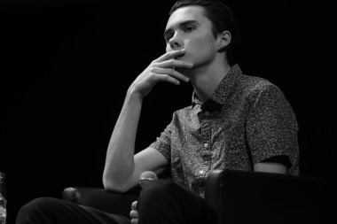 David Hogg - cofondatore March For Our Lives #ijf19