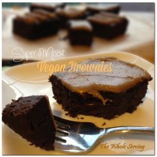 Super Moist Vegan Brownies