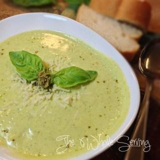 Summer Squash Creamy Soup