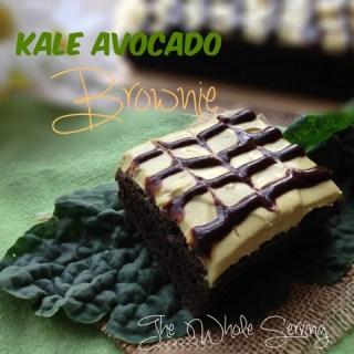 Kale Avocado Brownie