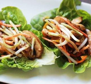 Mushroom Bul Go Gi Lettuce Wraps