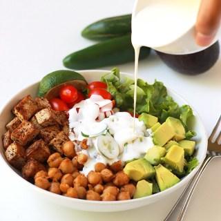 Spicy Chickpea Burrito Bowl
