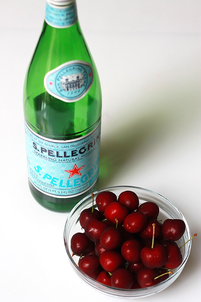 Water-and-Cherry-Snack