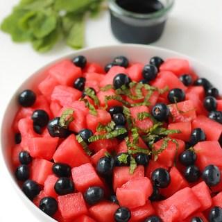 Watermelon & Blueberry Salad