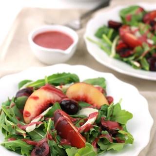 Fruity Spinach & Arugula Salad