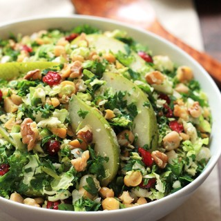 Pear-Brussels Sprout Salad