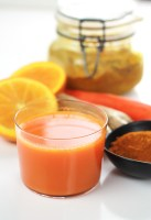 Healing Turmeric Golden Juice - A healthy anti-inflammatory drink your body deserves.