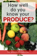 Organic or Non-Organic - What's in your produce? Get the EWG App to help you decide, and live a healthier life.