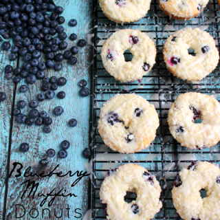 Pretty Pintastic Party #149 & Blueberry Muffin Donut Recipe