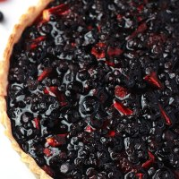 Blueberry Raspberry & Apple Tart