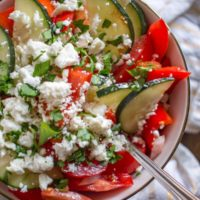 Pretty Pintastic Party #162 & Delicious Shopska Salad