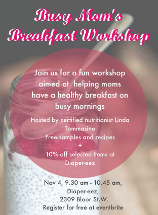 Upcoming Event – Busy Mom's Breakfast Workshop