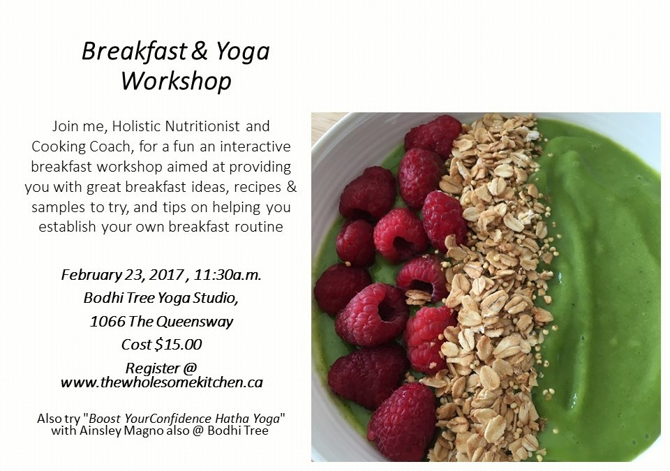 Breakfast and Yoga Workshop
