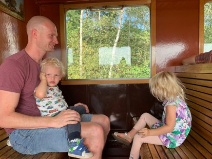 Taking the old train to Boekelo