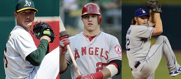 california-trio-scott-kazmir-mike-trout-and-clayton-kershaw
