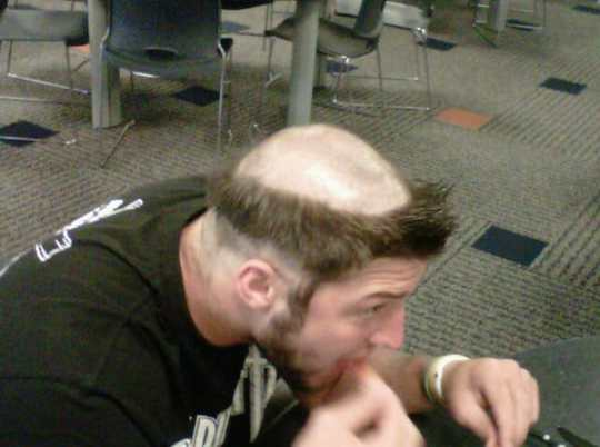 tim-tebow-rookie-hazing-haircut-lendale-white-twitter