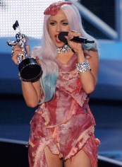 Lady Gaga definitely would've wanted a Super Bowl appetizer dress
