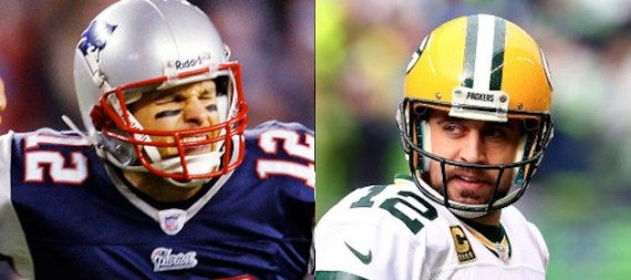 NFL Preview Tom Brady and Aaron Rodgers