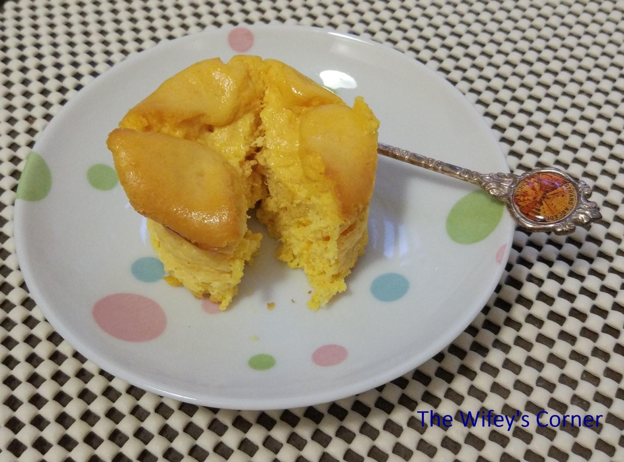 baked pumpkin cheesecake