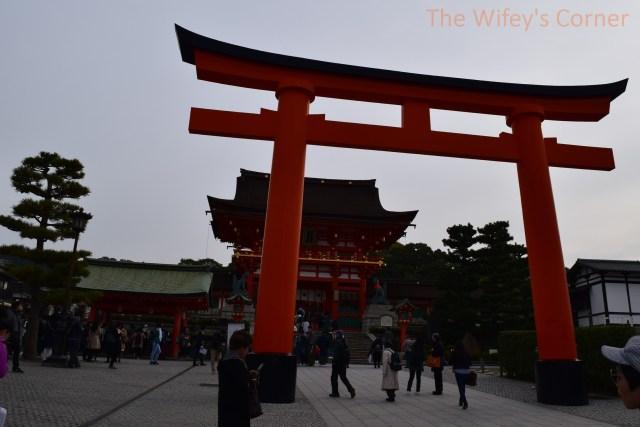 Main gate of Fushimi Inari Taisha