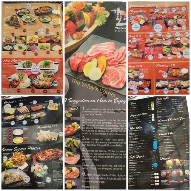 sakae menu