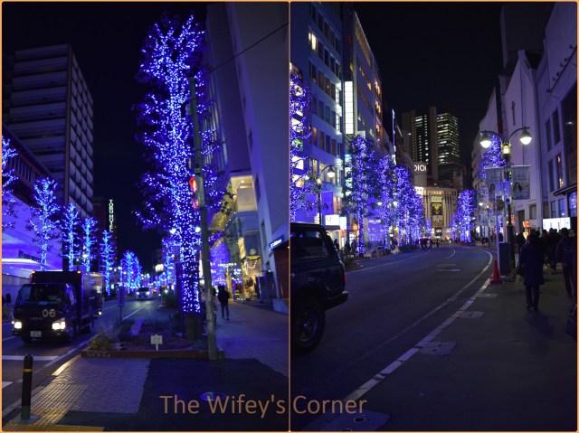 Blue Cave Shibuya Illumination 2017