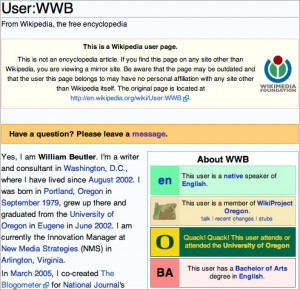 User:WWB at Wikipedia