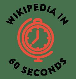 Wikipedia in 60 Seconds (logo)