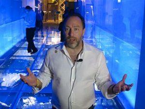 Jimmy Wales in Hong Kong, 2013