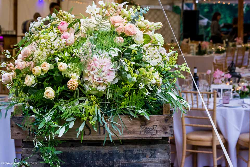 Marquee & Tipi Wedding Flowers