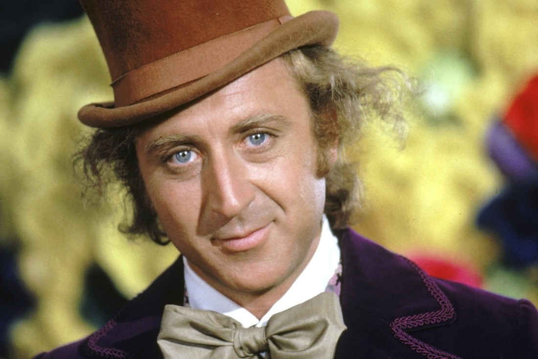 About us - Gene Wilder as Willy Wonka