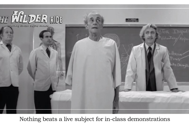 Young Frankenstein Episode 8: Apparently this medical lecture is mostly accurate