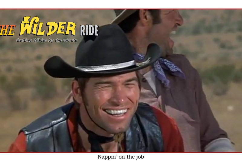 Blazing Saddles Episode 3: Nappin' on the job