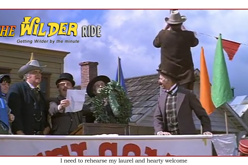 Blazing Saddles Episode 27: I need to rehearse my laurel and hearty welcome
