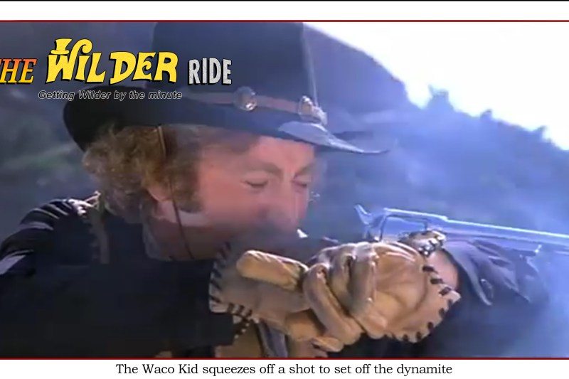 Blazing Saddles episode 82: The Waco Kid squeezes off a shot