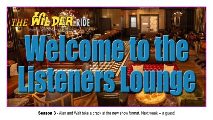 Welcome to the Listeners Lounge