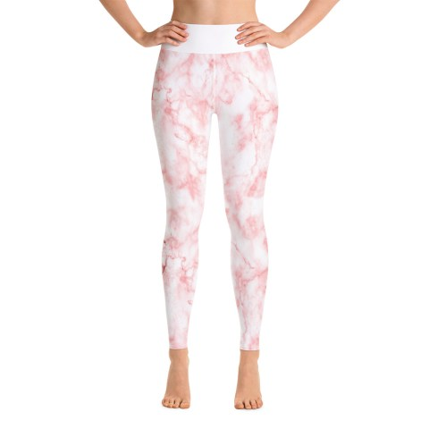 Pink Marble Sports Pants