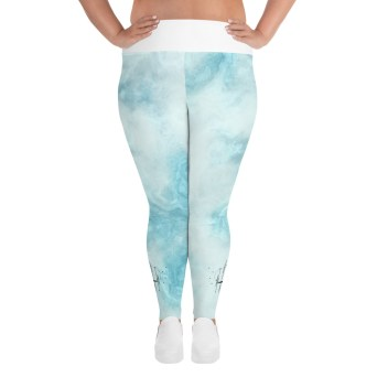light plus size leggings