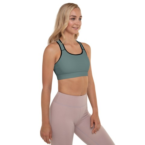 Dusky Green Sports Bra