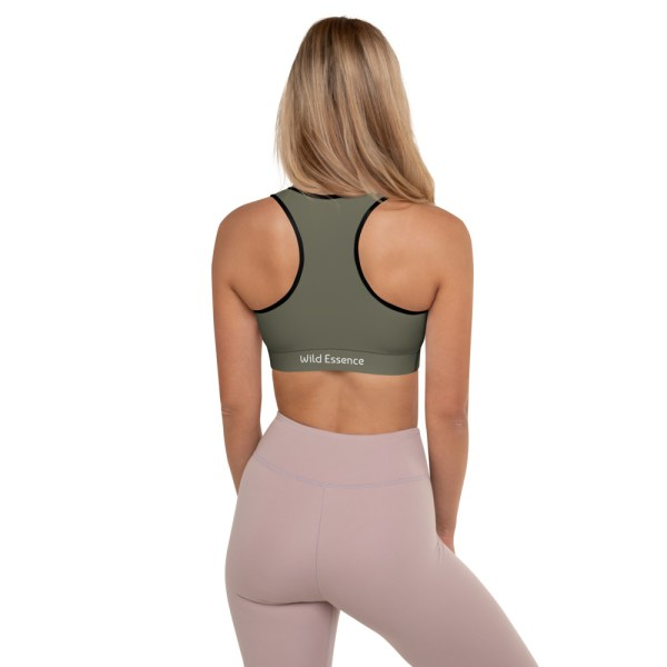 Khaki Yoga Bra